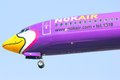 Hs dbc boeing of nokair chiangmai thailand january low cost airline landing to chiangmai airport from bangkok don muang airport Royalty Free Stock Photos