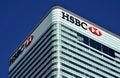 HSBC Canary Wharf Royalty Free Stock Photo
