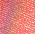 Html codes close up of on led screen Royalty Free Stock Image