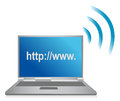 Http wifi browser Stock Photography
