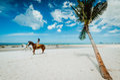Hua hin beach thailand seascape of Royalty Free Stock Photography