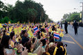 Hua hin december thai people to celebrate for the th birth birthday of hm king bhumibol adulyadej on in hun thailand Stock Photo