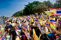 Hua hin december thai people to celebrate for the th birthday of hm king bhumibol adulyadej on in hun thailand Stock Photos