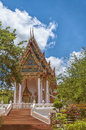 Hua hin temple a buddhist situated in the city of in thailand Stock Images