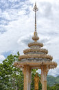 Hua hin temple a buddhist situated in the city of in thailand Stock Photography