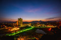 Hua hin thailand twilight at Royalty Free Stock Photo