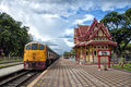 Hua Hin train station 03 Royalty Free Stock Photos