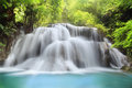 Huai Mae Kamin Waterfall Stock Images