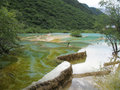 Huanglong Lake Royalty Free Stock Photo