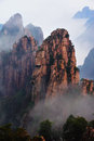 Huangshan Mountain Stock Image