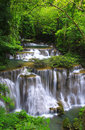Huay mae ka min waterfall Royalty Free Stock Images