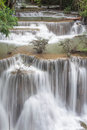 Huay Mae Khamin Waterfall Royalty Free Stock Image