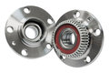 Hub bearing wheel of a car on white background Royalty Free Stock Images