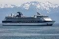 Hubbard Glacier Cruising Royalty Free Stock Photo