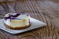 Huckleberry cheesecake Royalty Free Stock Photo
