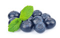 Huckleberry with mint Royalty Free Stock Photo