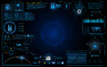 Hud interface ui design technology innovation system running graphic concept background