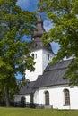 Hudiksvall church Royalty Free Stock Photo