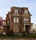 Hudson-Evans Mansion Royalty Free Stock Photo