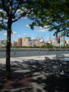 Hudson River Park New York Stock Photography
