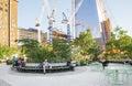 Hudson Yards Park, NYC Royalty Free Stock Photo