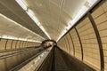 Hudson Yards Subway Station - NYC Royalty Free Stock Photo