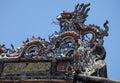 Hue the tu duc emperor mausoleum vietnam Stock Photography