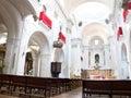 Huelva cathedral andalucia spain principal ship of santa iglesia catedral de la merced Royalty Free Stock Photo