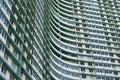Huge apartment building complex in Havana, Cuba Stock Photo