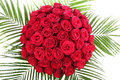 A Huge Bouquet Of Red Roses. T...