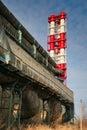 Huge chimney-stalk Stock Image