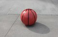 Huge concrete basketball super size larger than life Royalty Free Stock Photography