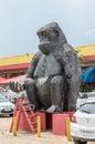 Huge monkey sculpture