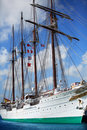 Huge spanish sail ship Royalty Free Stock Photo