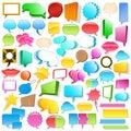 Huge speech bubble collection