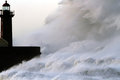 Huge Stormy Wave Royalty Free Stock Photos