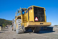 Huge wheel loader on brekke quarries Stock Photography
