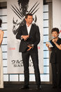 Hugh jackman august tokyo japan – appears at the japan premiere for the wolverine by james mangold in the roppongi hills tokyo Stock Image