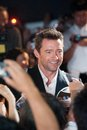 Hugh jackman august tokyo japan – appears at the japan premiere for the wolverine by james mangold in the roppongi hills tokyo Stock Images