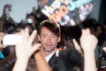 Hugh jackman august tokyo japan – appears at the japan premiere for the wolverine by james mangold in the roppongi hills tokyo Royalty Free Stock Photography