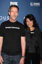 Hugh Laurie,Lisa Edelstein Royalty Free Stock Photo