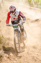 Hugo correia gois portugal june during the th stage of the taca de portugal downhill vodafone on june in gois portugal Royalty Free Stock Photos