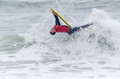 Hugo pincheiro ovar portugal august at the nd stage of the bodyboard protour on august in ovar portugal Stock Images
