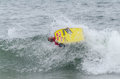Hugo pincheiro ovar portugal august at the nd stage of the bodyboard protour on august in ovar portugal Stock Image