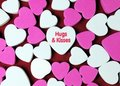 Hugs and Kisses Royalty Free Stock Photo