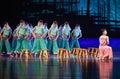 "They are  Huian women and xunpu women-Dance drama ""The Dream of Maritime Silk Road"" Royalty Free Stock Photo"