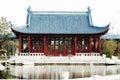 Huis van Chinese stijl Stock Foto's