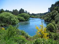 Huka Falls River Stock Photography