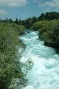 Huka Falls whitewater Royalty Free Stock Photo