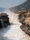 Huko瀑布 免版税图库摄影